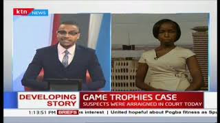 Game trophies case : 3 Chinese and 1 Kenyan detained