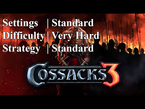 Cossacks 3 | Very Hard difficulty | Standard Strat |