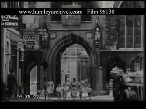 Historic Streets Of Bristol, 1950s - Film 96130