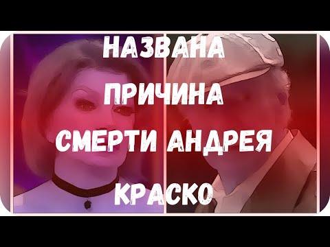 Названа причина смерти Андрея Краско