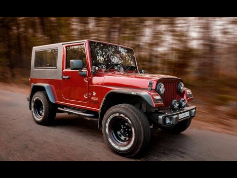 NEW MAHINDRA THAR CRDe 4X4 MODIFIED WITH JEEP HARDTOP ...