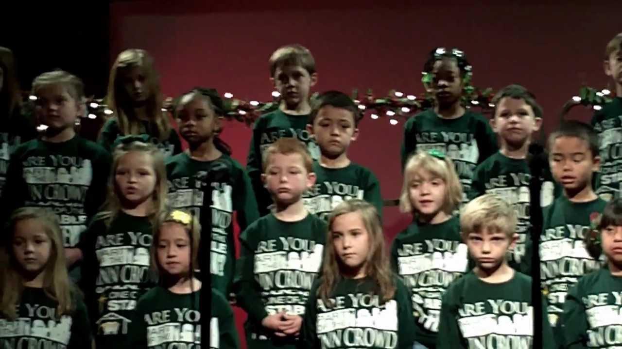2012- NWA 1st Grade Christmas - YouTube