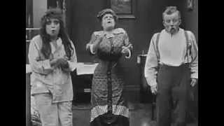 Mabel Normand Film #131: Mabel's Strange Predicament (1914, Charlie, Chaplin, debut of the tramp)