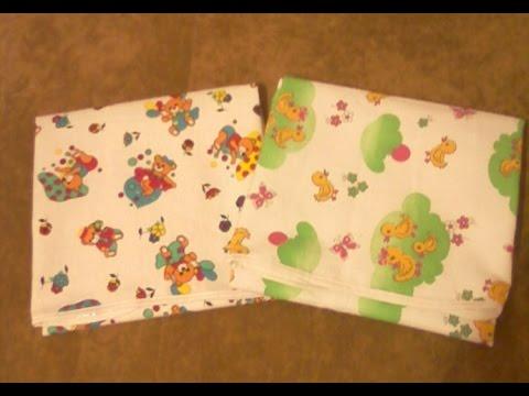 DIY Шьем непромокаемую пеленку для малыша