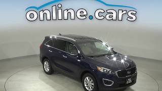 C14710NA Used 2017 Kia Sorento LX FWD 4D Sport Utility Blue Test Drive, Review, For Sale
