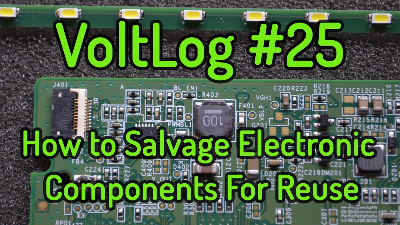 Reuse Electronic Components Ask Answer Wiring Diagram Free Stock Photo 4063integrated Circuits Freeimageslive Voltlog 25 How To Salvage For Youtube Contamination Soil And Electronics