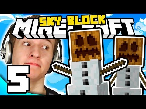 SVAĐA SNJEGOVIĆA! ( Minecraft Sky Block #5 )