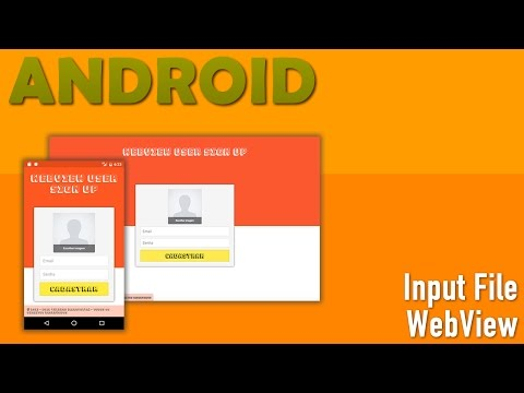 Input File no WebView Android - YouTube