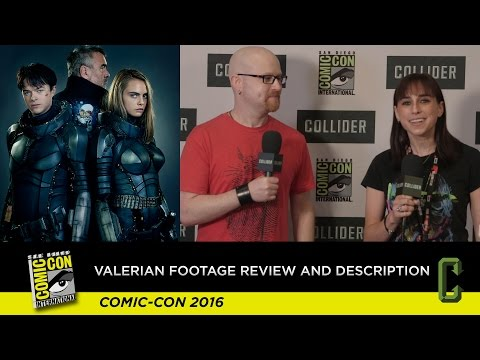Valerian Footage Review and Description - San Diego Comic Con 2016