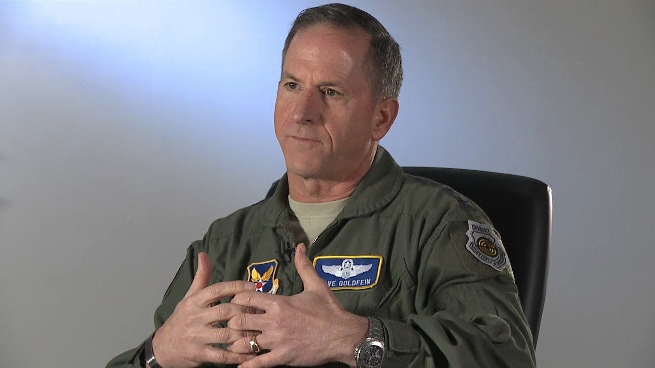 Chief of Staff of the Air Force Gen Goldfein Visits Misawa
