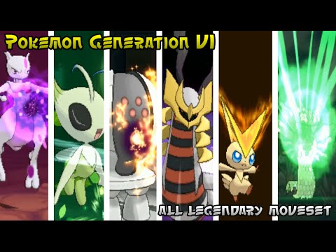Pokemon Generation VI - Legendary Pokemon [Strongest & Signature Moves #1]