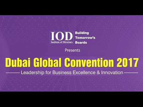 IOD Dubai Global Convention-2017 telecasted by TIMES NOW