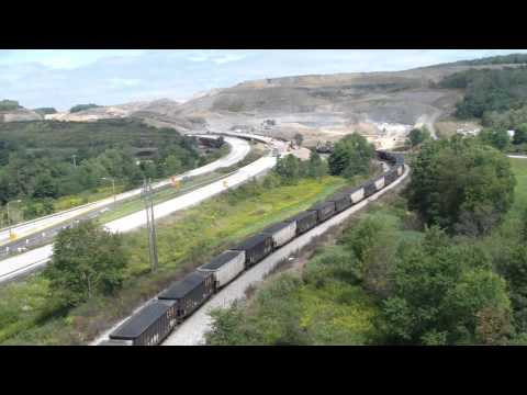 Eastbound coal on Sand Patch grade
