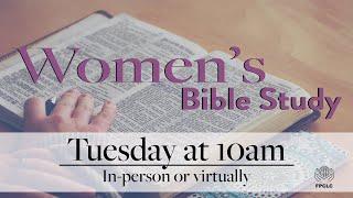 Women's Bible Study - March 23rd, 2021