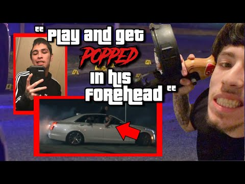 GUERO10K GETTING SNITCHED ON FOR DRIVE-BY THAT LEFT RIVAL RAPPER'S SKULL MISSING