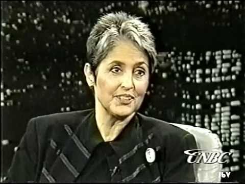 Charles Grodin interviews Joan Baez 9/28//1995.  Song:  Don't Think Twice