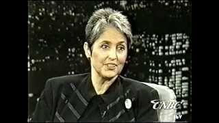 Charles Grodin interviews Joan Baez 9/28//1995.  Song:  Don