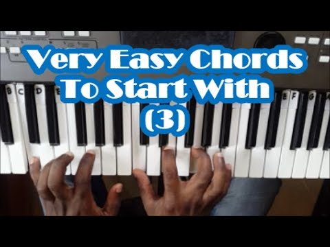 Easy Piano Chords That Every Beginner Should Know Lesson 3 Basic