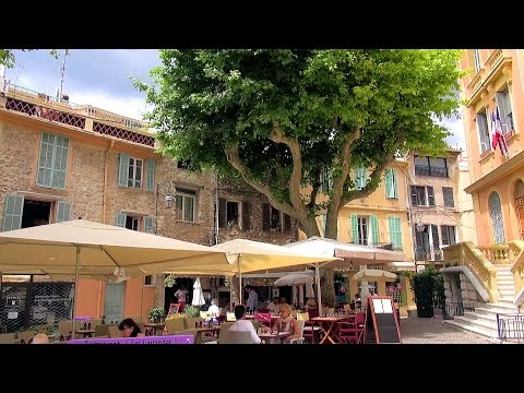 One Day in Vence, French Riviera (Côte d'Azur), France [HD] (videoturysta)