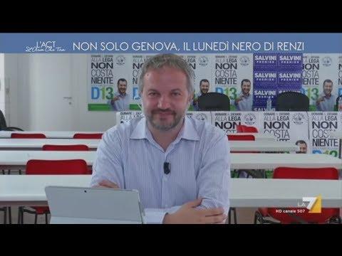 """Claudio Borghi a """"L'aria che tira"""" su La7 - 26/06/2017"""