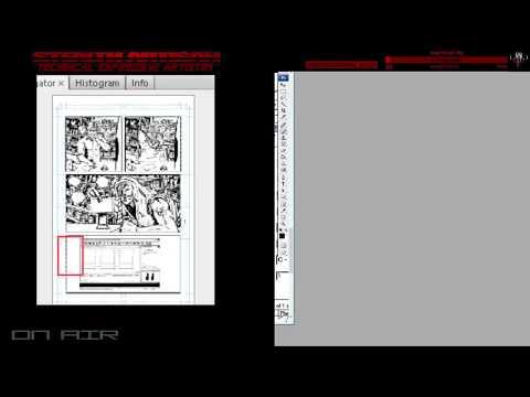 SATIRE comic book art || ASHLER - STEALTH ARTISAN - LIVE