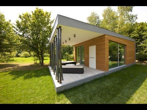 Дизайн небольшого одноэтажного дома - YouTube Небольшой Дом в Стиле Хай Тек