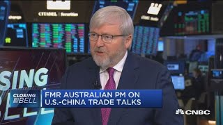Fmr. Australian PM: US-China relations the worst they've been in almost half a century