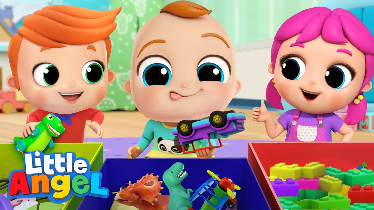 Download Let's Tidy Up! Clean Up Song   Kids Songs & Nursery Rhymes by Little Angel
