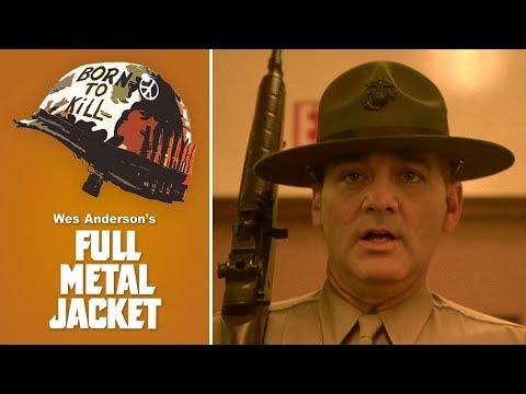 Wes Anderson's Full Metal Jacket starring Bill Murray [DeepFake]