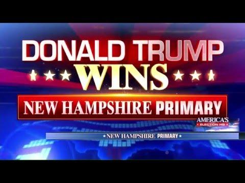 Donald Trump Wins New Hampshire Republican Primary