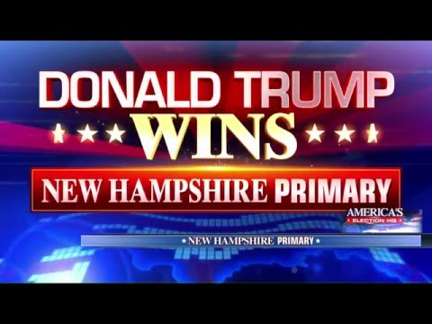 Donald Trump Wins New Hampshire Republican Primary