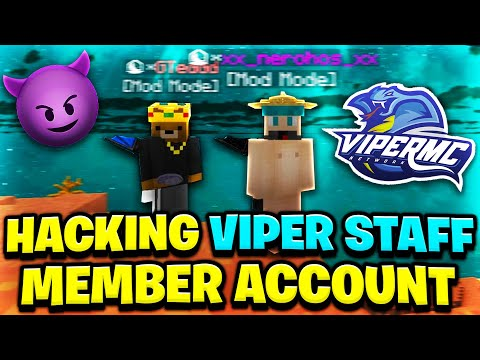 Hacking ViperMC Staff Member Account!