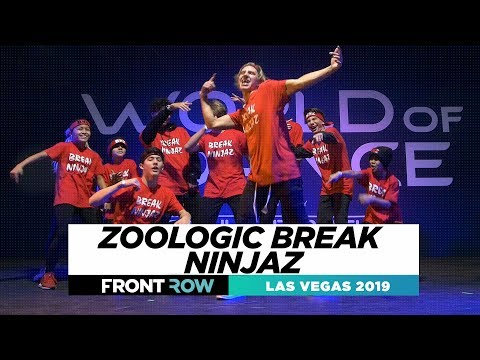 Zoologic Break Ninjaz FRONTROW World of Dance Las Vegas 2019 #WODLV19