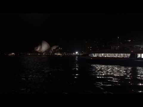 SYDNEY OPERA HOUSE AT NIGHT MAGNIFICENT VIEW AND AMAZING