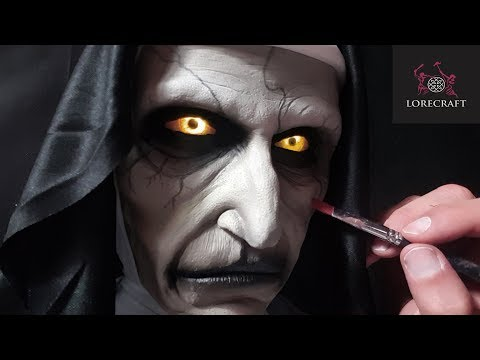 The Nun Sculpture Timelapse - Valak, The Conjuring Universe