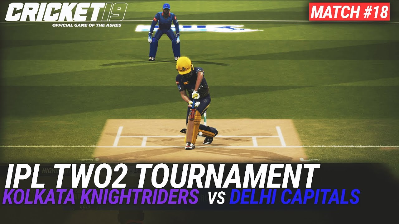 CRICKET 19 - IPL2020 TWO2 - MATCH #18 - KOLKATA KNIGHTRIDERS vs DELHI CAPITALS