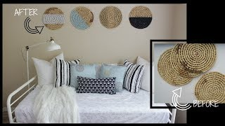 Using Thrifted Placemats As Diy Home Decor | Rushourfashion