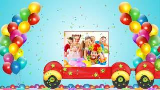 с днем рождения, слайд шоу на день рождение ребенку, оригинальное поздравление