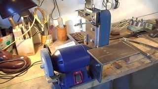 Гриндер своими руками на базе заточного станка и приспособления для ножеделания экономвариант