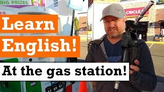Let's Learn English at the Gas Station | English Video with Subtitles