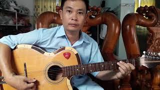 Tự học ghita cổ | Phong ba đình-Hướng dẫn đàn 15c đầu | Tấn Thành Bàu Năng