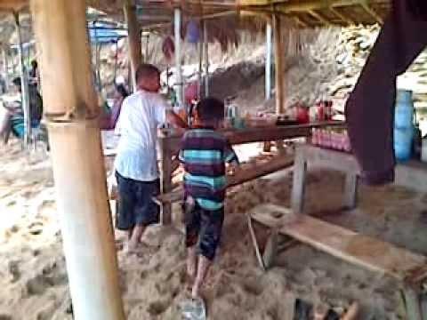 Pantai nampu Paranggupito Wonogiri. Jawa Tengah