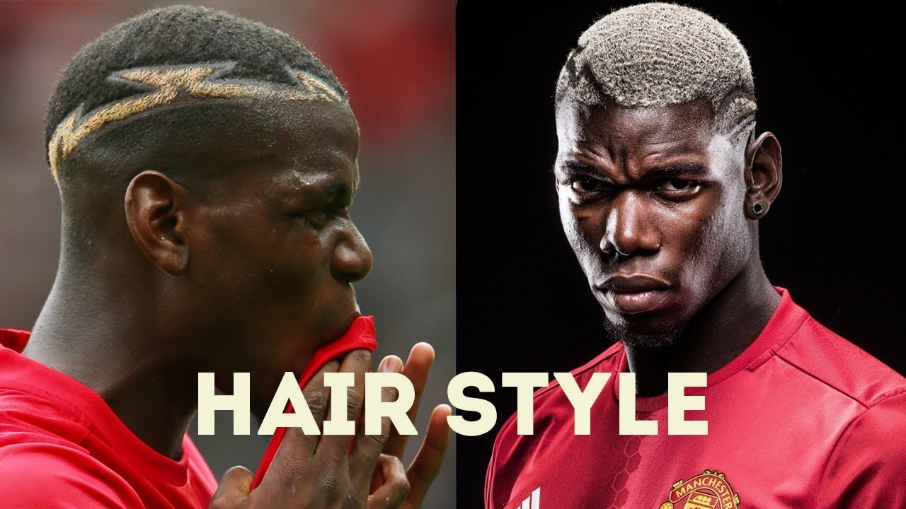 27 Paul Pogba Hairstyle At Manchester United Youtube