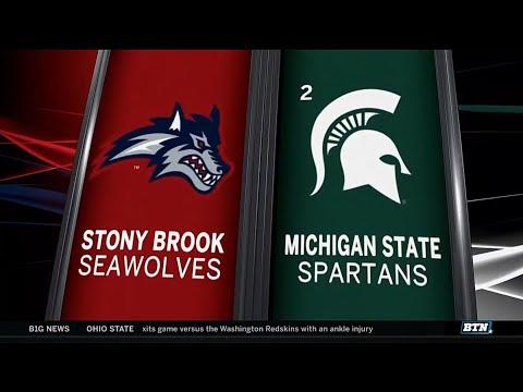 Stony Brook at Michigan State - Men's Basketball Highlights