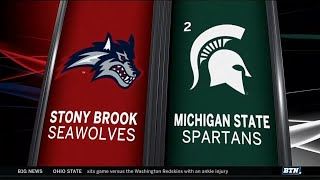 Stony Brook at Michigan State - Men's Basketball Highlights