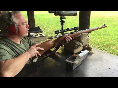 Mannlicher Schoenauer 1952 Range / Shooting Review Kahles Scope