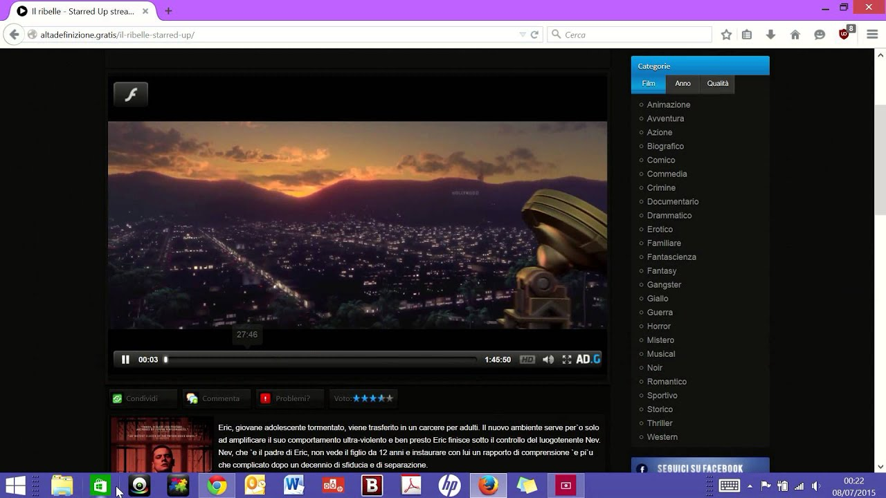 Come scaricare film in hd da altadefinizioneclickFirefox  YouTube