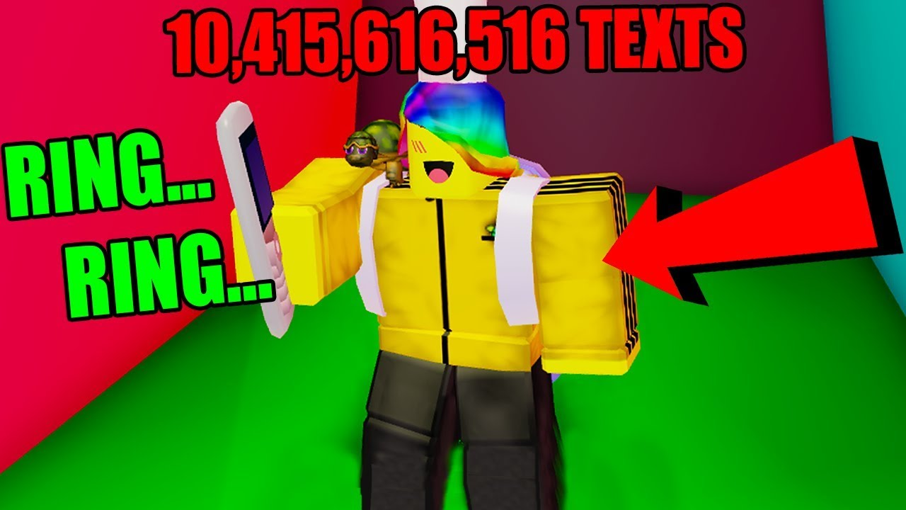 I SENT MAX TEXTS AND BECAME THE BEST PLAYER (Roblox ...