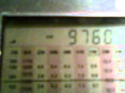 9760 KHz RADIO NIKKEI 2 50 KW from Chiba-Nagara (Japan) 2011.12.21
