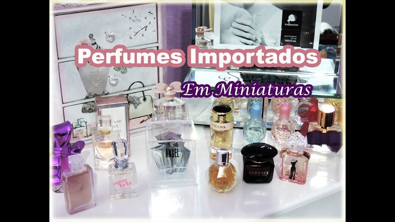 comprar miniaturas perfumes